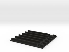 Asymmetric T-track ESB in Black Natural Versatile Plastic