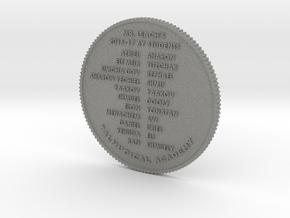 170427 ShmooCoin in Gray PA12