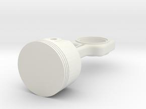 piston  in White Natural Versatile Plastic