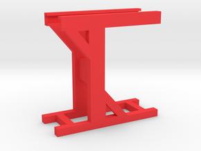 Schlüter Gewichtsträger Bock in Red Processed Versatile Plastic