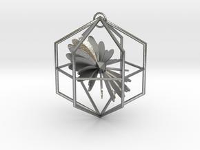 Heart in Natural Silver (Interlocking Parts)