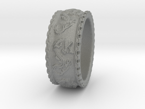 Dragon Ring 2016 in Gray Professional Plastic