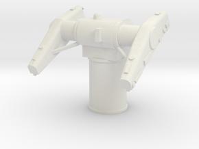 1/48 Scale Mk 10 Missile Launcher in White Natural Versatile Plastic
