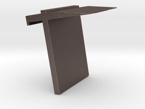 book frame in Polished Bronzed-Silver Steel