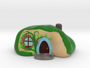 Hobbit Home in Natural Full Color Sandstone