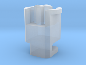 Topre to MX 6u Stabilizer Plunger (Left) in Smooth Fine Detail Plastic