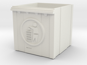 trash can in White Natural Versatile Plastic