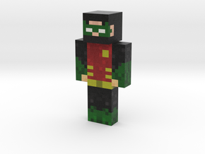 Za2Zombies | Minecraft toy in Natural Full Color Sandstone