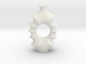 Vase 2008K Redux in White Natural Versatile Plastic