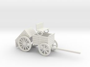 ORE WAGON DUMP in White Natural Versatile Plastic