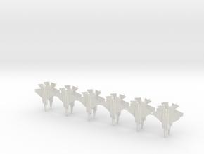 1/700 F-35C (x12) in White Natural Versatile Plastic