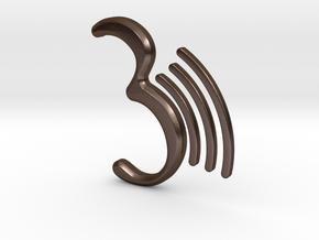 3dproductsale logo in Polished Bronze Steel