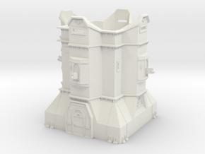 Imperial Bastion - Adeptus Titanicus Scale in White Natural Versatile Plastic