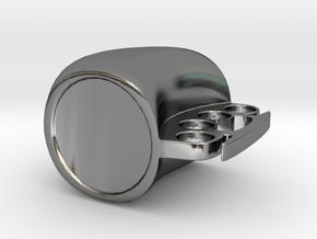 Mug in Polished Silver: Medium