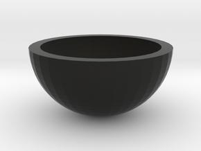 碗 in Black Natural Versatile Plastic