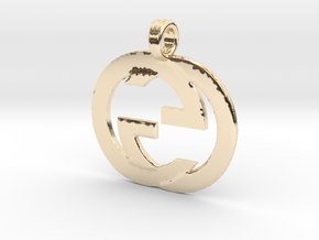 guccuui in 14k Gold Plated Brass