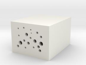 肥皂盒 in White Natural Versatile Plastic: Medium