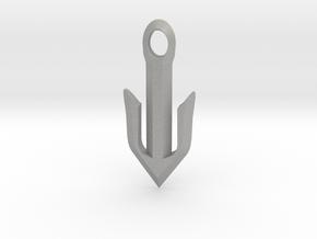 Narrow Omega Anchor in Aluminum