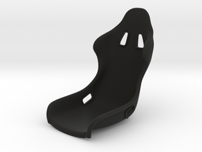 Race Seat-RType 10 - 1/10 in Black Natural Versatile Plastic