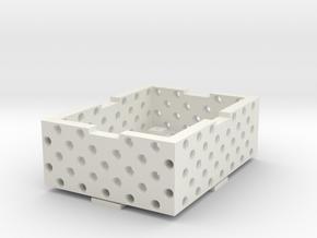 Case_Loch+Cover in White Natural Versatile Plastic