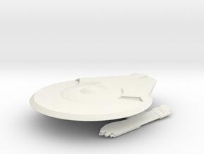 Hoover Class / 6.5cm - 2.56in in White Natural Versatile Plastic