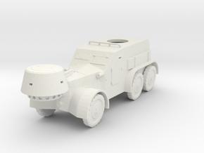 1/48th scale Tatra OA vz. 30 in White Natural Versatile Plastic