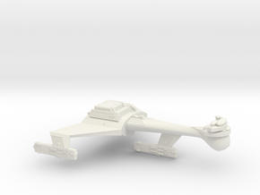 3125 Scale Klingon C8VB Heavy Carrier WEM in White Natural Versatile Plastic