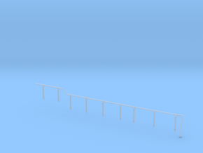 GE U36B walkway Handrail LH rear in Smoothest Fine Detail Plastic