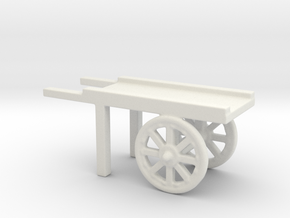 hand cart  in White Natural Versatile Plastic