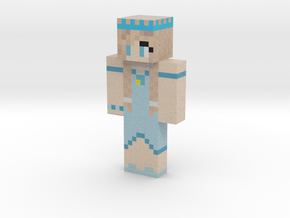 WolfandTiberius | Minecraft toy in Natural Full Color Sandstone