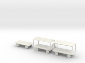 larg market  carts in White Natural Versatile Plastic