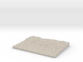 Model of Ranikharka in Natural Sandstone