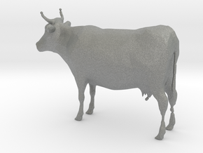1-64 Scale Cow in Gray PA12