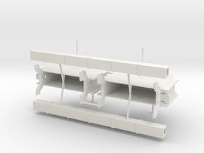 Two XVIII-XIX Century Chain Pumps in 1:24 scale wi in White Natural Versatile Plastic