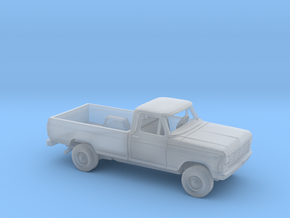 1/160 1978/79 Ford F-Series Reg.Cab Long Bed Kit in Smooth Fine Detail Plastic