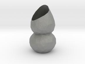 Vase 1324Low in Gray PA12