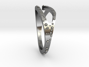 Wave Ring in Polished Silver: 4.5 / 47.75