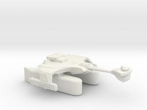 3788 Scale Romulan KRT Fleet Tug with Klingon Pods in White Natural Versatile Plastic