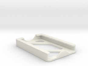 Minimalist Wallet in White Natural Versatile Plastic
