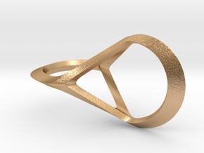 Oloid Glatt in Natural Bronze