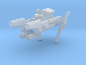 Order of the Shell Space Frigate in Smooth Fine Detail Plastic