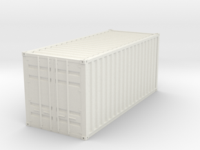 1CC container scale 1/32 in White Natural Versatile Plastic