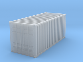 1CC container scale 1/32 in Smooth Fine Detail Plastic