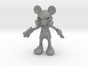 Mickey Gas Mask in Gray Professional Plastic