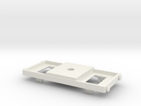 TOMY/Trackmaster Conversion Chassis Version 2 in White Natural Versatile Plastic