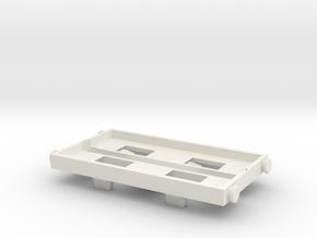 Trackmaster 2 Conversion Base in White Natural Versatile Plastic