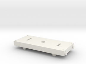 Trackmaster-TOMY Conversion Tanker Base 1 in White Natural Versatile Plastic
