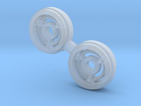 Rims for Farmall M ERTL Front wheels in Smooth Fine Detail Plastic