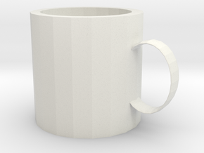 mug in White Natural Versatile Plastic: Extra Small