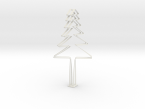 New Year in White Natural Versatile Plastic